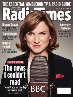 Fiona Bruce Radio Times cover