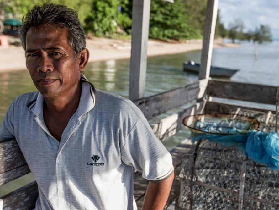 Abdul Karim Laing lives in a tiny village called Berungus in Sabah province, on the north coast of Malaysian Borneo