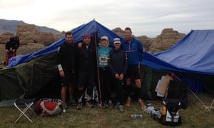 Gobi March - tent five