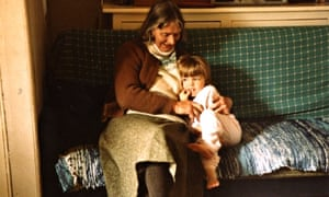 Hanna with her grandmother Mary