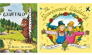 Covers of The Gruffalo and The Scarecrow's Wedding