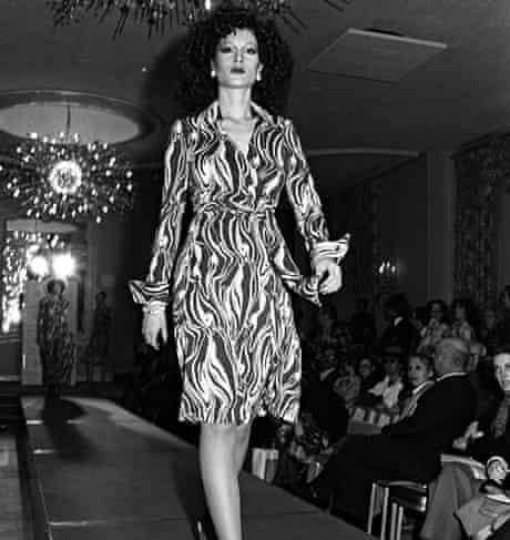 Von Furstenberg wrap dress, 1975