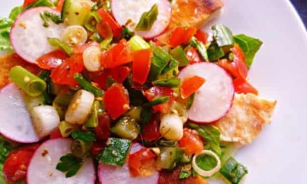 Live Better: Leftover tomato recipes fattoush salad