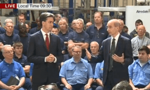 Ed Miliband and Lord Adonis
