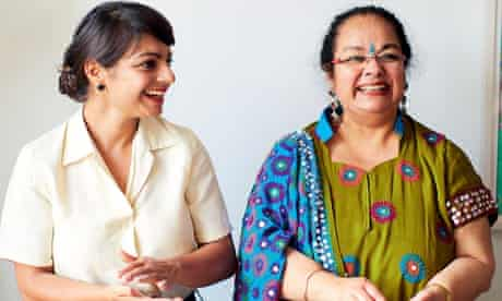 Meera Sodha with her mother