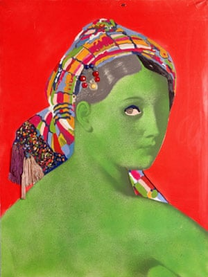 Martial Raysse: Raysse grand odalisque