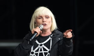 Debbie Harry and Blondie played to one of the biggest crowds of the festival