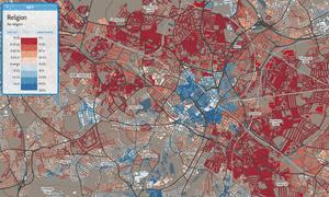 Birmingham religion map