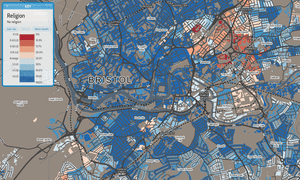 Bristol religion map