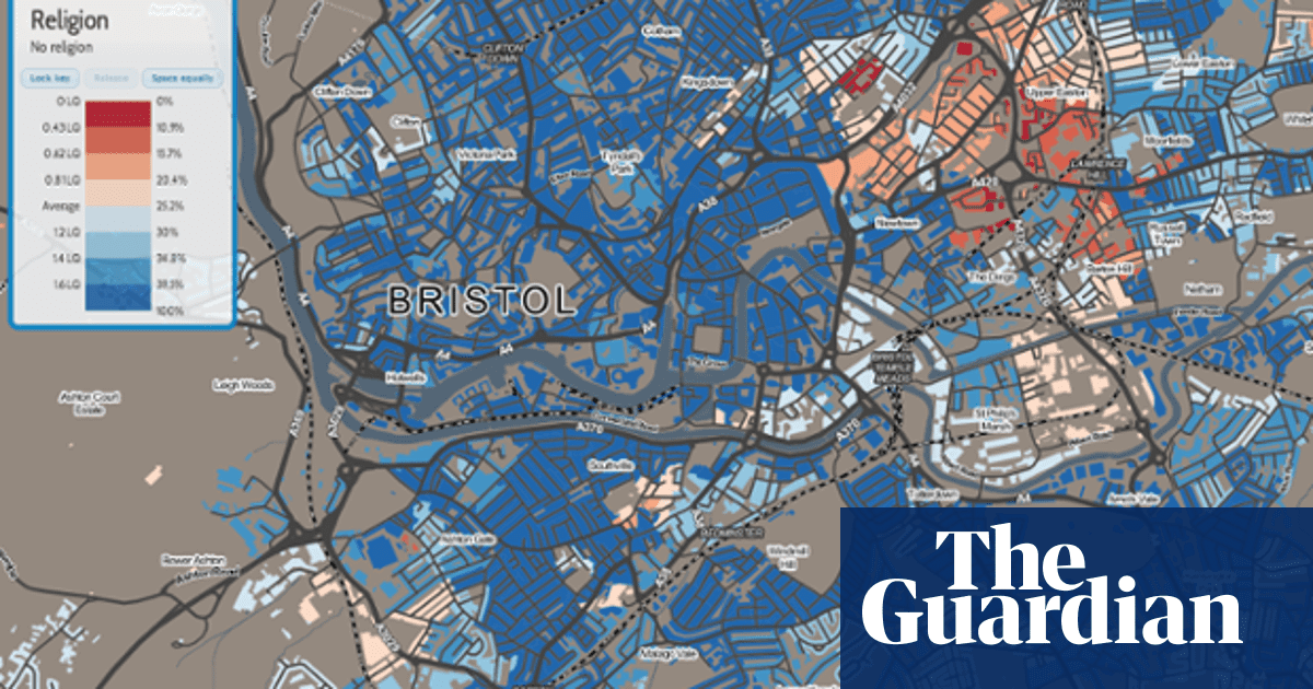 Map Of England And Wales With Cities.Where Do Atheists Live Maps Show The Godless Cities Of England