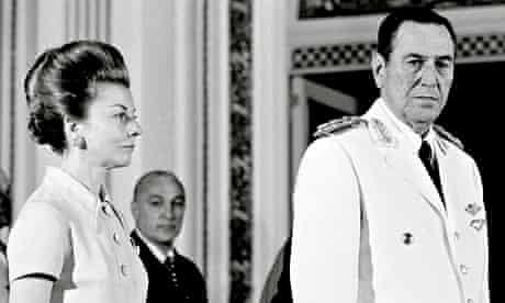 Juan Peron and Wife Maria