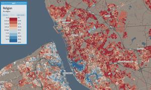 Liverpool religion map