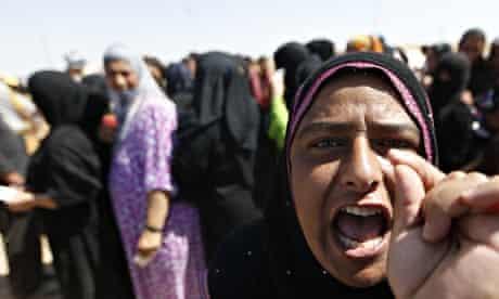 IRAQ-UNREST-DISPLACED