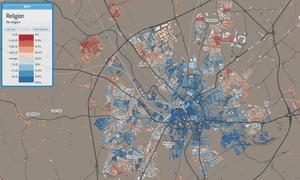 York religion map