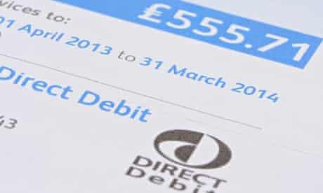 direct debit bill