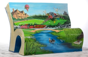 wind in the willows bench