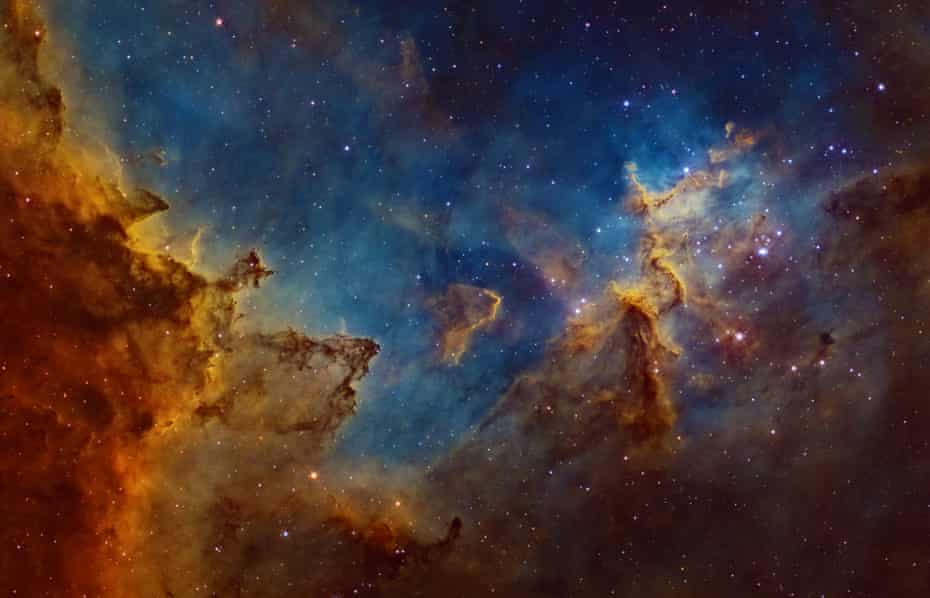 Astronomy Photographer of the Year 2014: Centre of the Heart Nebula by Ivan Eder (Hungary)
