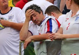 Agony and ecstasy: SOCCER : FIFA World Cup 2014 - Group D - England v Italy