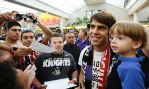 Kaka Orlando City arrival