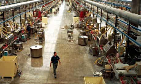 Porcelanosa tile factory, Valencia, Spain.