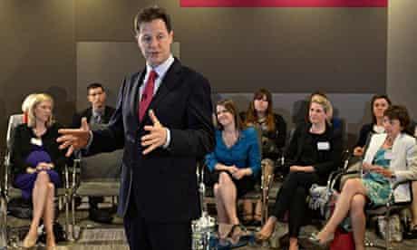 Nick Clegg speaks