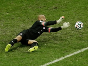 Another great stop from Tim Howard.