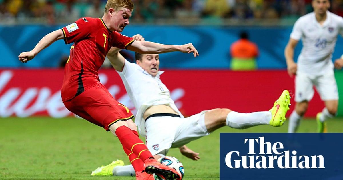 9571d3741 Belgium edge into quarter-finals after De Bruyne and Lukaku sink USA