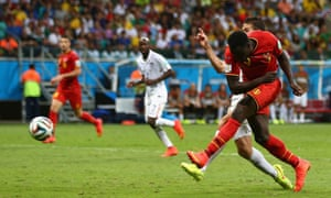 Romelu Lukaku makes it two.