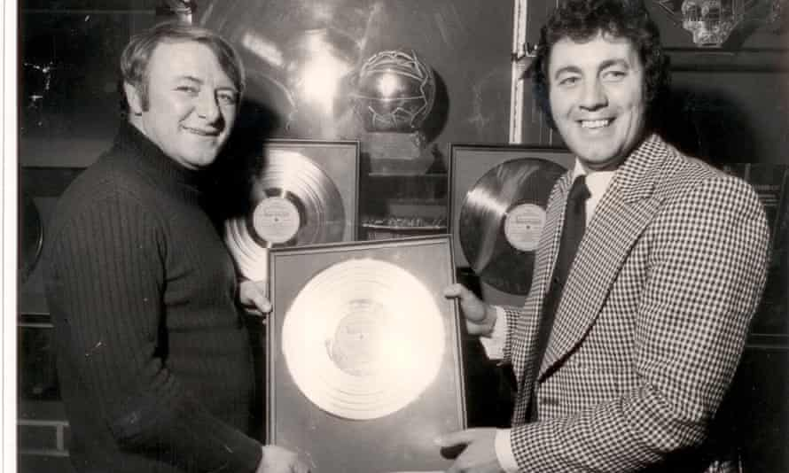 Cliff Portwood with Tommy Docherty