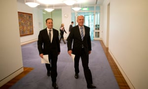Greg Hunt and Eric Abetz.