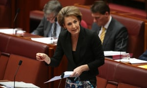 Assistant immigration minister Senator Michaelia Cash.