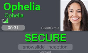 Silent Circle's Silent Phone service.