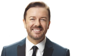 Comedian Ricky Gervais has called on people to give unwanted wildlife products to the police