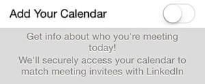 Add your calendar