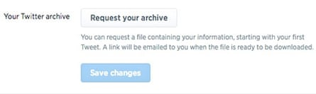Download your archive