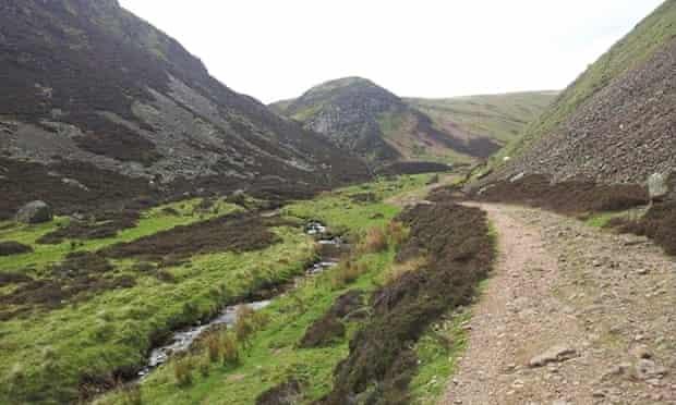 Hill walking in the Pentlands