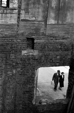 Ruined Window, Seoul, 1956.