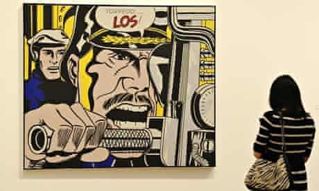 Roy Lichtenstein exhibition, Tate Modern, London, Britain  - 18 Feb 2013
