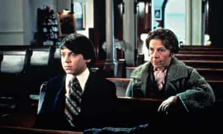 Bud Cort and Ruth Gordon in Harold and Maud.