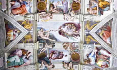 Michelangelo - The Creation of Adam