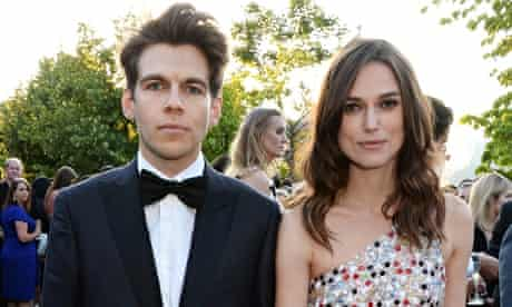 Keira Knightley with her husband James Righton.