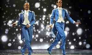 Same-sex ballroom dancers the Sugar Dandies