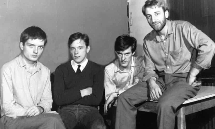 Joy Division - Ian Curtis, Bernard Sumner, Stephen Morris and Peter Hook.