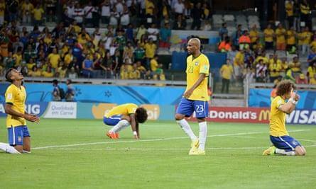 Brazil players humiliated