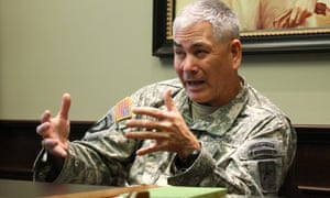 General John Campbell, the army's vice-chief of staff and nominee to lead US forces in Afghanistan.