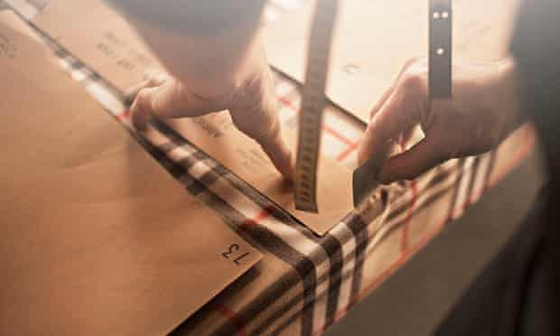 Burberry experience further falls in sales from Hong Kong.