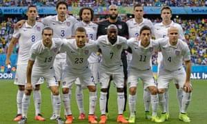 USA team shot