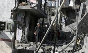 10 Jul 2014, Rafah, Gaza Strip.