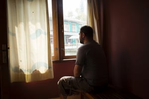 Thirty-three year old Mohammed (not comfortable giving his last name or showing his face) is an asylum seeker from Iraq.