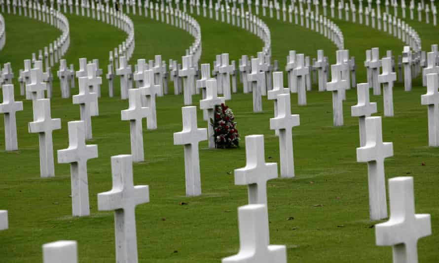 graves of war dead